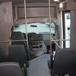 Ford E350 14 passenger charter shuttle coach bus for sale - Gas 6