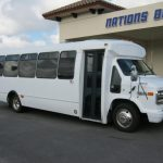 Chevy 29 passenger charter shuttle coach bus for sale - Gas 1