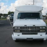 Chevy 29 passenger charter shuttle coach bus for sale - Gas 2