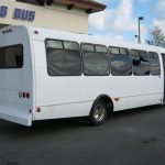 Chevy 29 passenger charter shuttle coach bus for sale - Gas 4