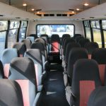 Chevy 29 passenger charter shuttle coach bus for sale - Gas 6