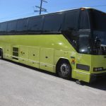 Prevost 56 passenger charter shuttle coach bus for sale - Diesel 1