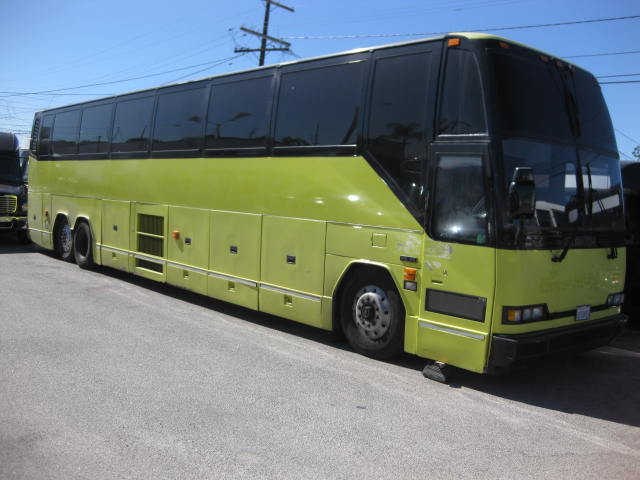 Prevost 56 passenger charter shuttle coach bus for sale - Diesel