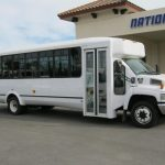 Chevy C5500 30 passenger charter shuttle coach bus for sale - Diesel 1