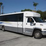 Chevy C5500 32 passenger charter shuttle coach bus for sale - Diesel 1