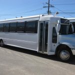 International 41 passenger charter shuttle coach bus for sale - Diesel 1