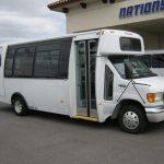 Ford E450 21 passenger charter shuttle coach bus for sale - Diesel 1