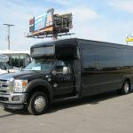 Ford F550 28 passenger charter shuttle coach bus for sale - Diesel 2