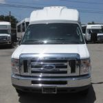 Ford E350 13 passenger charter shuttle coach bus for sale - Gas 3