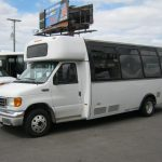 Ford E450 21 passenger charter shuttle coach bus for sale - Diesel 3