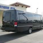 Ford F550 28 passenger charter shuttle coach bus for sale - Diesel 4