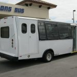 Ford E450 21 passenger charter shuttle coach bus for sale - Diesel 5