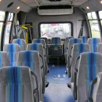 Ford E450 21 passenger charter shuttle coach bus for sale - Diesel 6