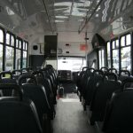 Chevy C5500 30 passenger charter shuttle coach bus for sale - Diesel 7