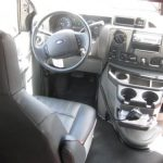 Ford E350 13 passenger charter shuttle coach bus for sale - Gas 8