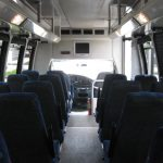 Ford E450 28 passenger charter shuttle coach bus for sale - Gas 6