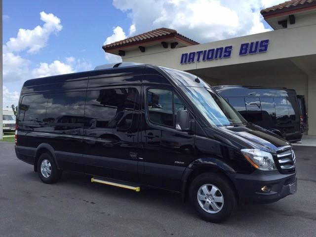 Mercedes 32500 11 passenger charter shuttle coach bus for sale - Diesel