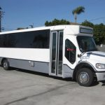 Freightliner 33 passenger charter shuttle coach bus for sale - Diesel 1