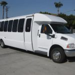 Chevy C5500 36 passenger charter shuttle coach bus for sale - Diesel 1