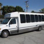 Ford E450 28 passenger charter shuttle coach bus for sale - Gas 2