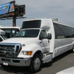 Ford F650 36 passenger charter shuttle coach bus for sale - Diesel 4