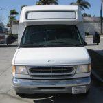 Ford E450 28 passenger charter shuttle coach bus for sale - Gas 3