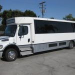 Freightliner 33 passenger charter shuttle coach bus for sale - Diesel 3