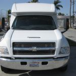 Chevy C5500 36 passenger charter shuttle coach bus for sale - Diesel 3