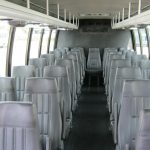Ford F650 36 passenger charter shuttle coach bus for sale - Diesel 5