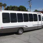 Ford E450 28 passenger charter shuttle coach bus for sale - Gas 5