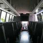 Ford F650 36 passenger charter shuttle coach bus for sale - Diesel 6
