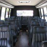 Ford E450 26 passenger charter shuttle coach bus for sale - Gas 5
