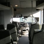 Ford E350 17 passenger charter shuttle coach bus for sale - Gas 7