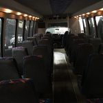 Chevy C5500 36 passenger charter shuttle coach bus for sale - Diesel 6