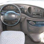 Ford E450 28 passenger charter shuttle coach bus for sale - Gas 8