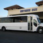 Freightliner M2 33 passenger charter shuttle coach bus for sale - Diesel 1
