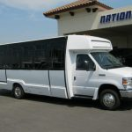 Ford E450 17 passenger charter shuttle coach bus for sale - Gas 1