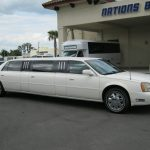Cadillac Deville 8 passenger charter shuttle coach bus for sale - Gas 1
