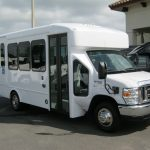 Ford E450 12 passenger charter shuttle coach bus for sale - Gas 1