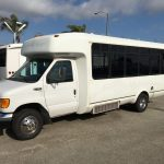 Ford E450 21 passenger charter shuttle coach bus for sale - Diesel 2