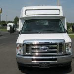 Ford E450 17 passenger charter shuttle coach bus for sale - Gas 2
