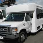 Ford E450 12 passenger charter shuttle coach bus for sale - Gas 2