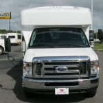 Ford E450 12 passenger charter shuttle coach bus for sale - Gas 3