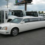 Cadillac Deville 8 passenger charter shuttle coach bus for sale - Gas 3