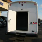 Freightliner M2 33 passenger charter shuttle coach bus for sale - Diesel 4