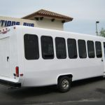 Ford E450 28 passenger charter shuttle coach bus for sale - Gas 5