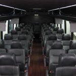 Freightliner M2 40 passenger charter shuttle coach bus for sale - Diesel 5