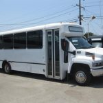Chevy C5500 30 passenger charter shuttle coach bus for sale - Propane 1