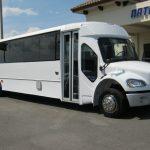Freightliner M2 37 passenger charter shuttle coach bus for sale - Diesel 1