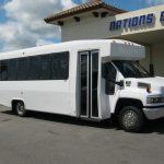 Chevy C5500 24 passenger charter shuttle coach bus for sale - Diesel 1